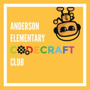 Anderson Elementary Codecraft Club