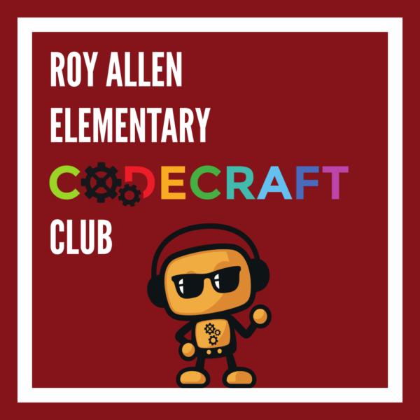 Roy Allen Elementary Codecraft Club
